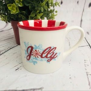 Starbucks Ceramic Jolly Holiday Mug